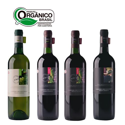 Cestas Orgânica de Vinhos da Serra Gaúcha
