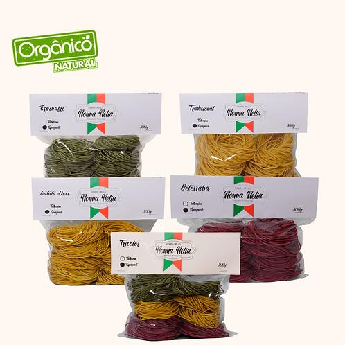 Cesta Orgânica Espaguetes  Artesanais