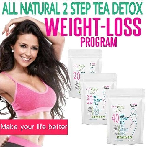 Chá Verde Natural Detox Supressor de Apetite Seca Gordura