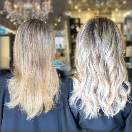 Individual natural remy hair
