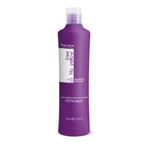 Fanola No Yellow Vegan Shampoo Sulfate Free 350ml