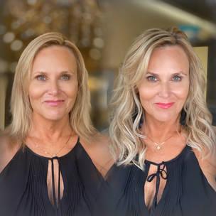 Fusion great lengths keratin hair extensions