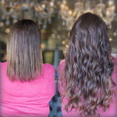 NBR Hand tied weft extensions Dallas