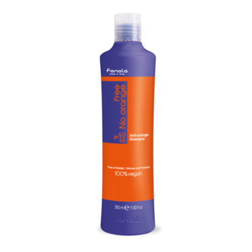Fanola No Orange Vegan Shampoo Sulfate Free 350ml