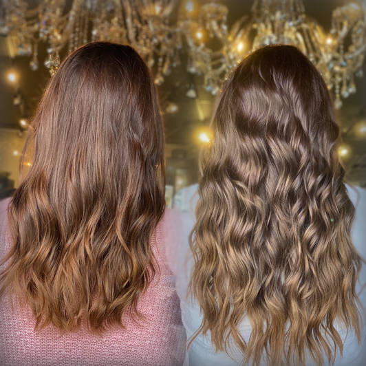 Hair Extensions Beaded Weft Dallas