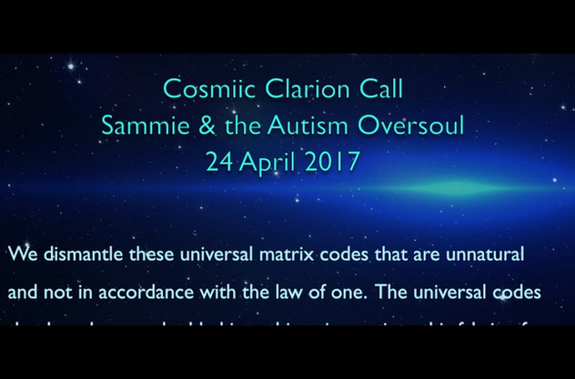 Cosmic Clarion Call (4/24/17)