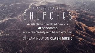 Our new single Churches is out now!