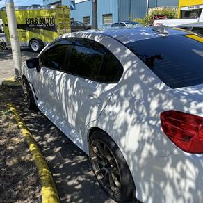 2018 Subaru wrx 5% 3m tinted in tukwilla location
