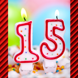 15 nymber candles
