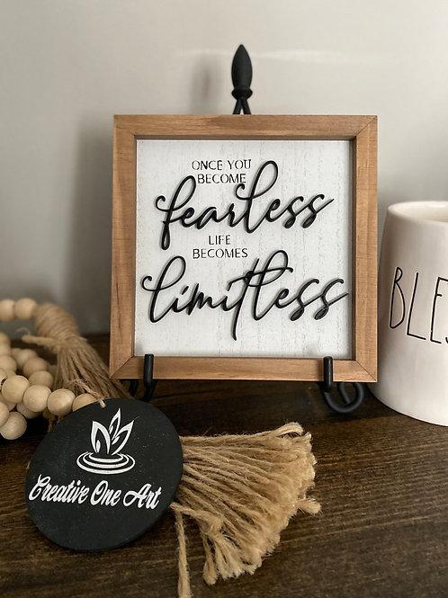 5X5 -  Fearless - Motivational