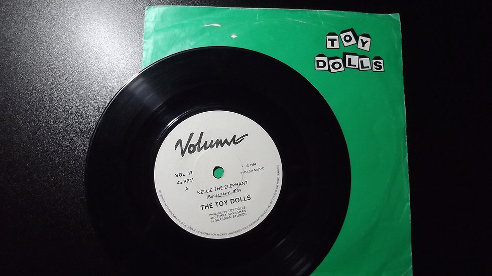 """The Toy Dolls - Nellie The Elephant 7"""" Single"""