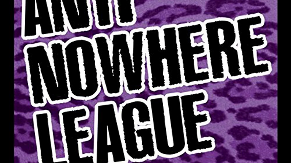 Anti Nowhere League - For You Cd