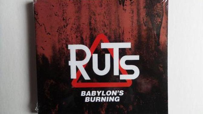 Ruts - Babylons Burning Cd