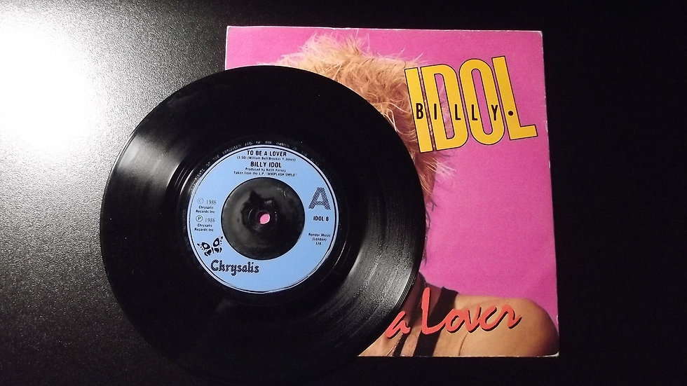 "Billy Idol - To Be A Lover 7"" Single"