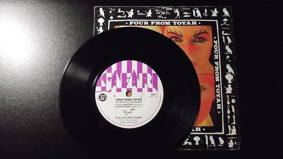 Toyah - Four From Toyah Single