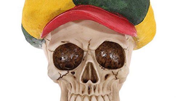 Resin Rasta Skull   (a)