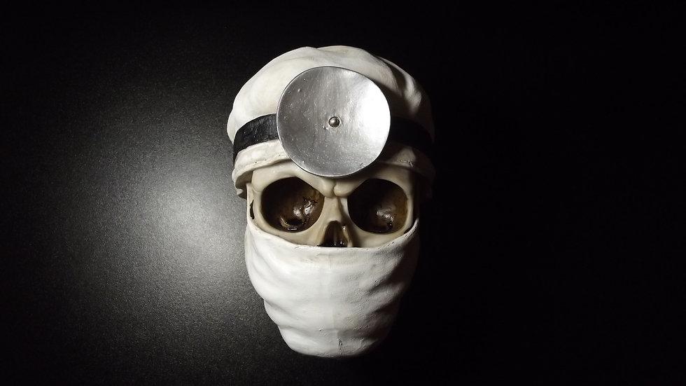 Surgeon Resin Skull   (a)