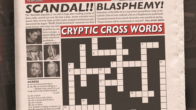 Paranoid Visions - Cryptic Cross Words Cd