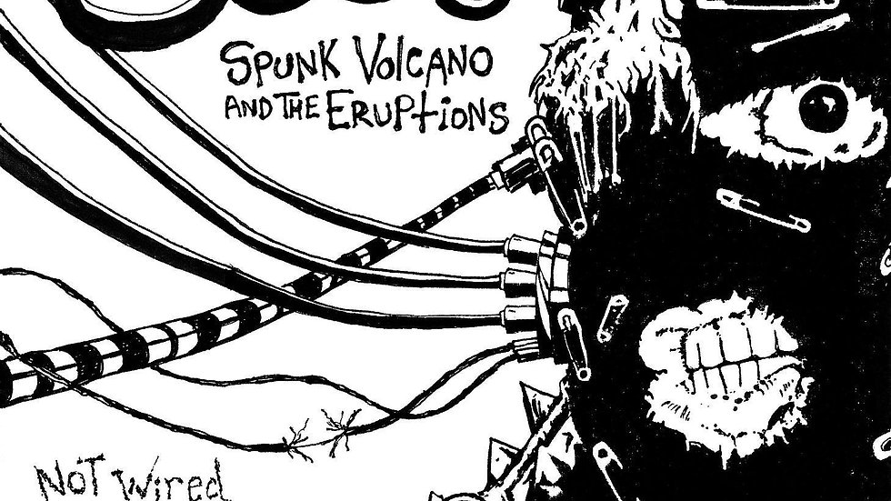 STP048 - Spunk Volcano & The Eruptions - Not Wired Up Right Cd