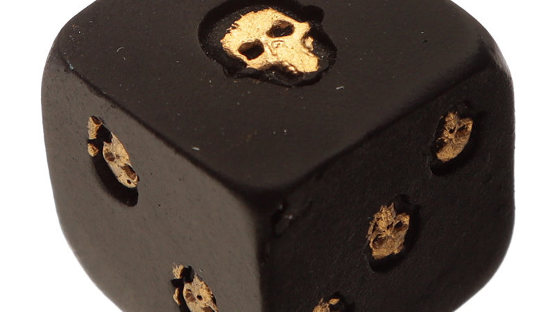Skull Twin Dice Pack   (a)