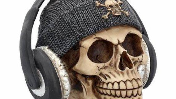 Headphone Resin Skull   (b)
