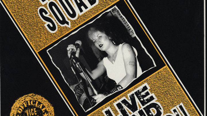 Vice Squad Live & Loud Cd