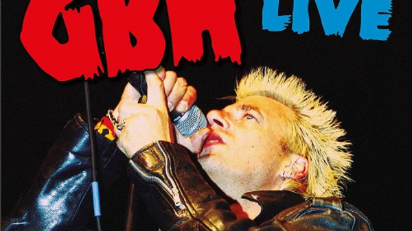 "GBH - Best Of Live 12"" Vinyl Record"