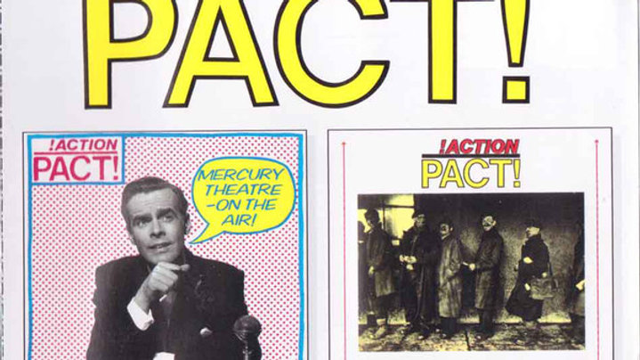 Action Pact - Mercury Theatre/Survival Of The Fattest Cd