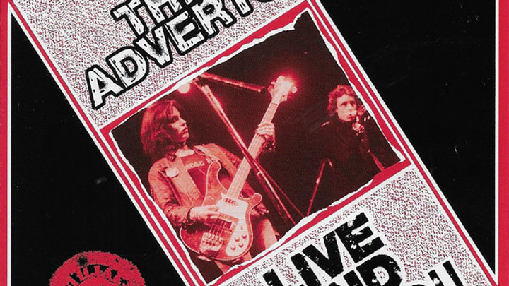 The Adverts - Live & Loud Cd