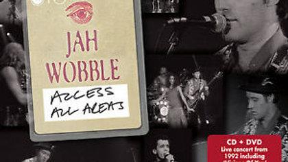 Jah Wobble - Access All Areas Cd/Dvd