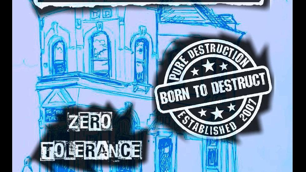 THE VARUKERS / BORN TO DESTRUCT / ZERO TOLERANCE @ STAR & GARTER.