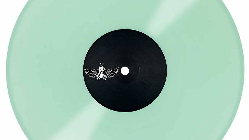 """STP061 - SPIT YOUR SOULS OUT 12"""" GLOW IN THE DARK RECORD."""