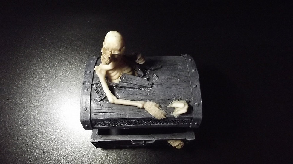 Skeleton Chest Jewellery Box   (a)