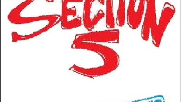 """Section 5 - Rejected 12"""" record (clear splatter vinyl)"""