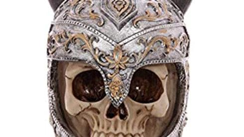 Viking Resin Skull   (a)