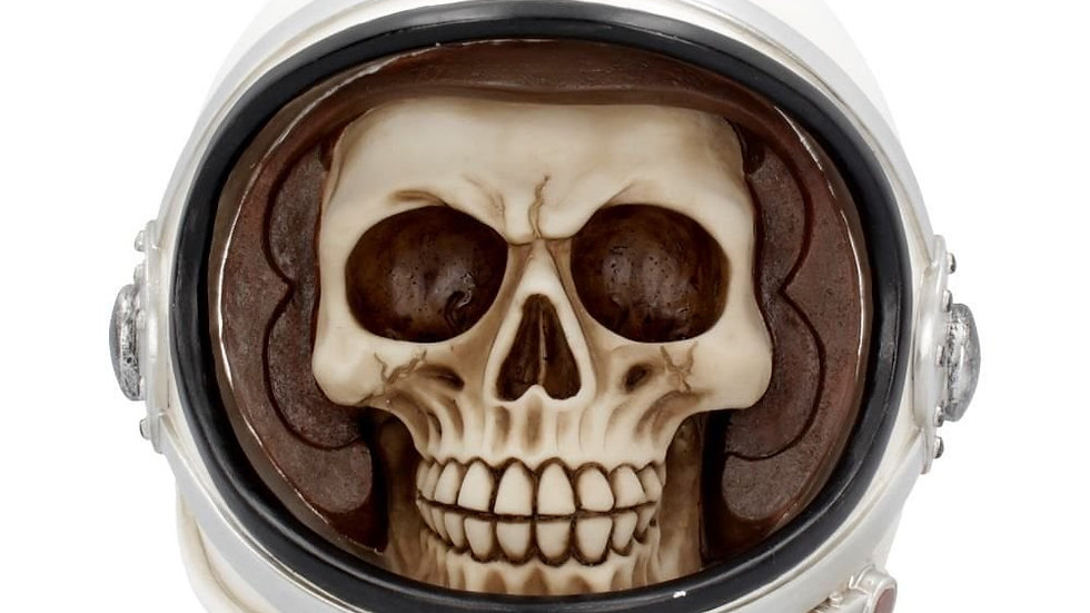 Astronaut Resin Skull   (b)