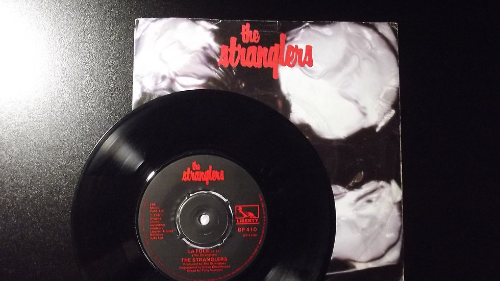 """The Stranglers - La Folie/Waltz In Black 7"""" Single"""