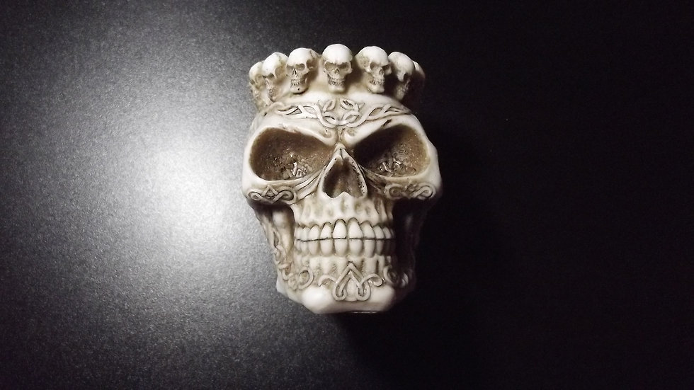 Resin Skull Ashtray   (b)