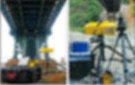 Imagine exemplificativă numărul 2 echipament utilizat pentru proiectele de monitorizare interferometrică terestră