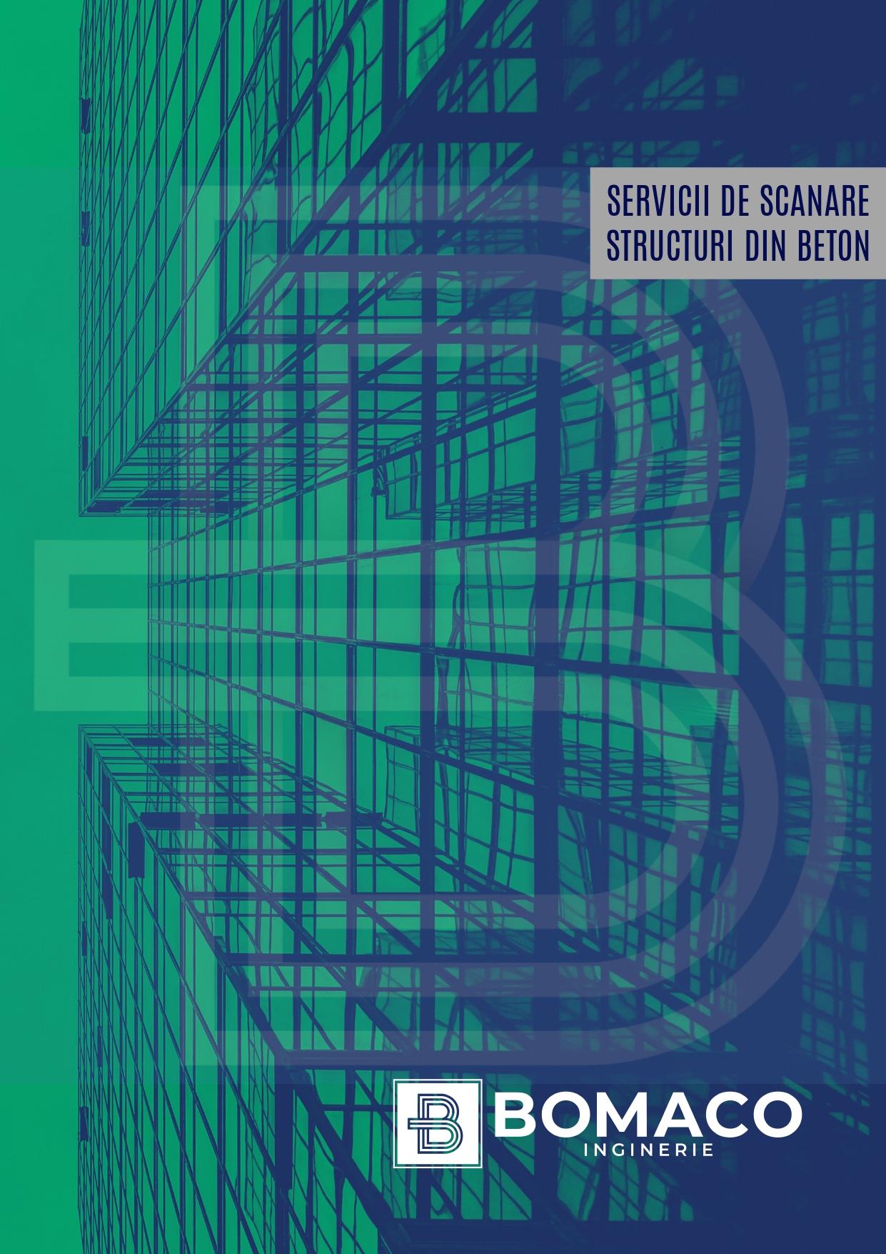 Brosura servicii de scanare structuri - Coperta