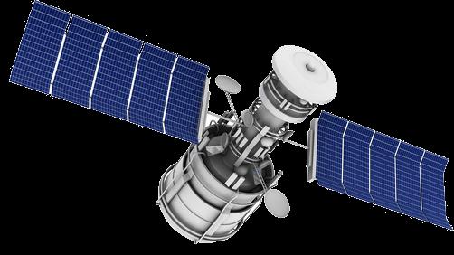 Imagine exemplificativă a unui satelit utilizat în cadrul proiectelor de monitorizare interferometrică satelitară