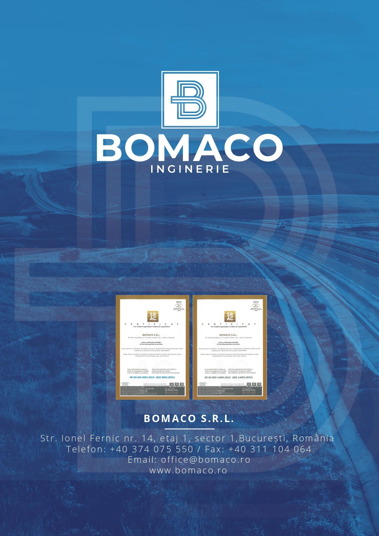 Brosura prezentare Bomaco 2020 PG8