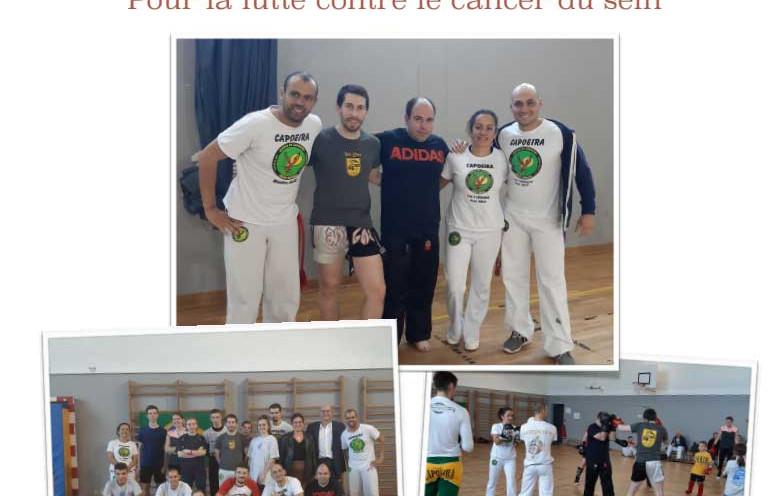 Journée sportive solidaire, pour la lutte contre le cancer du sein