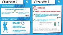 Comment bien s'hydrater? La réponse de l'INSEP !