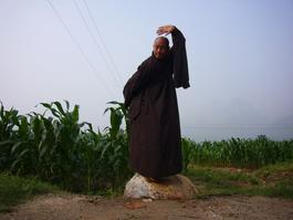 Voyage en Chien au Temple Shaolin en 2007
