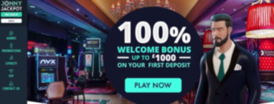 Jonny Jackpot Casino Review - Main Lobby