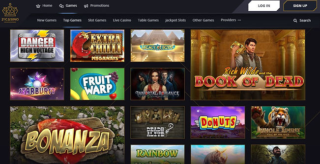 21 Casino Review 2019 - Slots and Games.