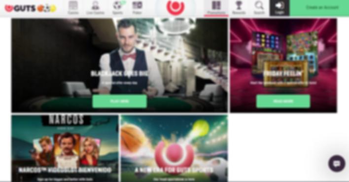 Guts UK Casino Review