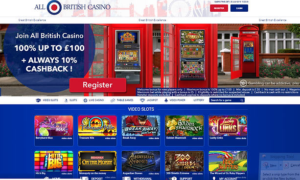 All British UK Casino Review