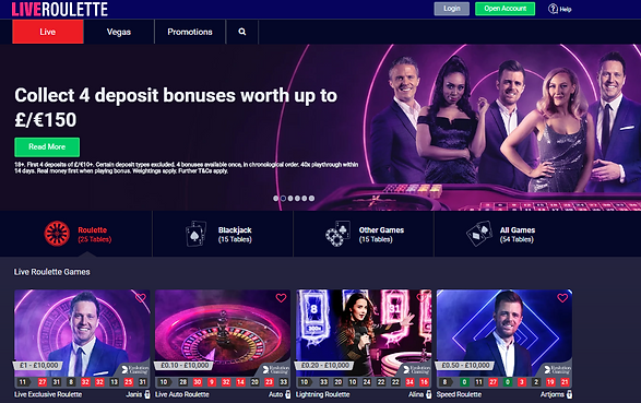 Live Roulette UK Casino Review
